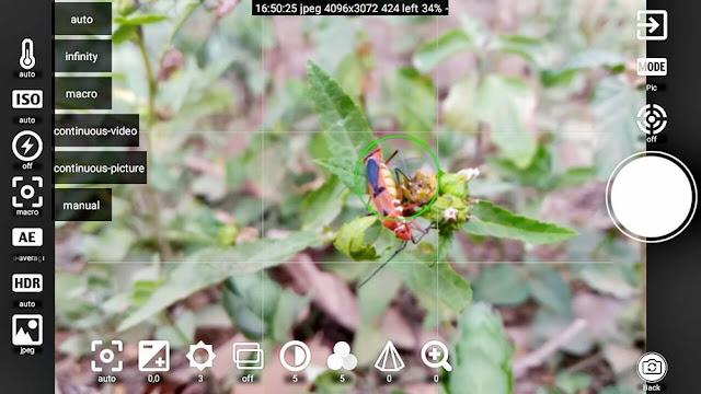 FreeDCam Aplikasi Kamera makro