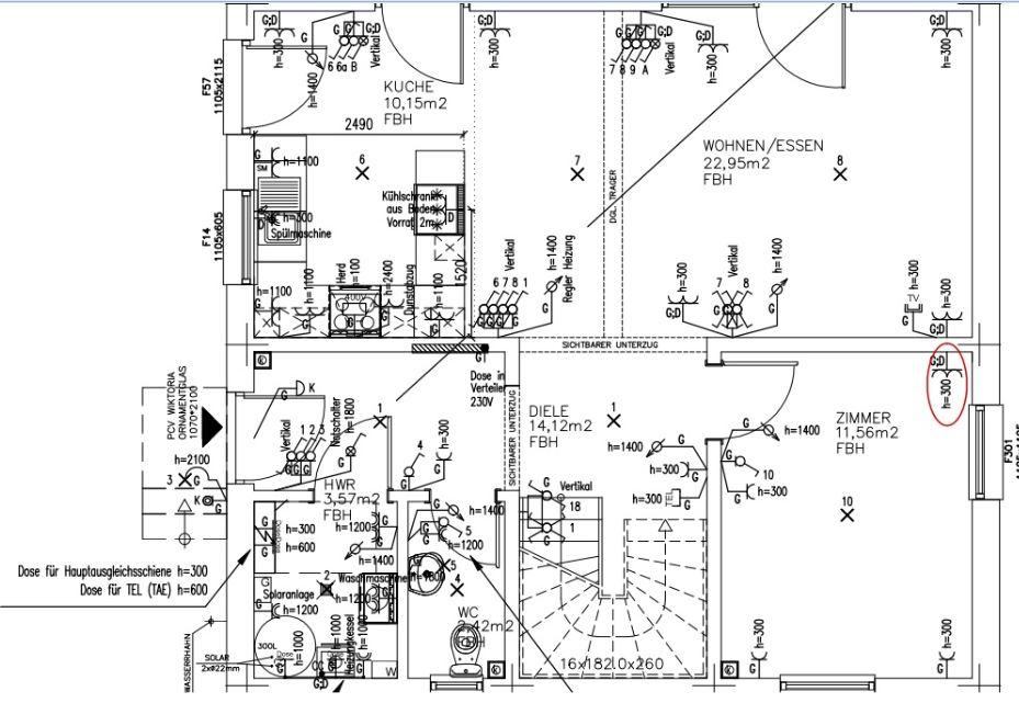 projekt point 127 1 e plan die 3 version. Black Bedroom Furniture Sets. Home Design Ideas