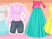 We have prepared for you an exciting new dress up game in which you will have the assignment of helping princess Ariel in her search for new fashion trends. She is a huge fan on Pinterest, and likes spending a lot of time pinning outfits she likes and inspire her. The game we created for you, called Ariel Pinterest Addict is the perfect mix of Ariel's favorite outfits, and this is why we wanted to share with you this dress up game.