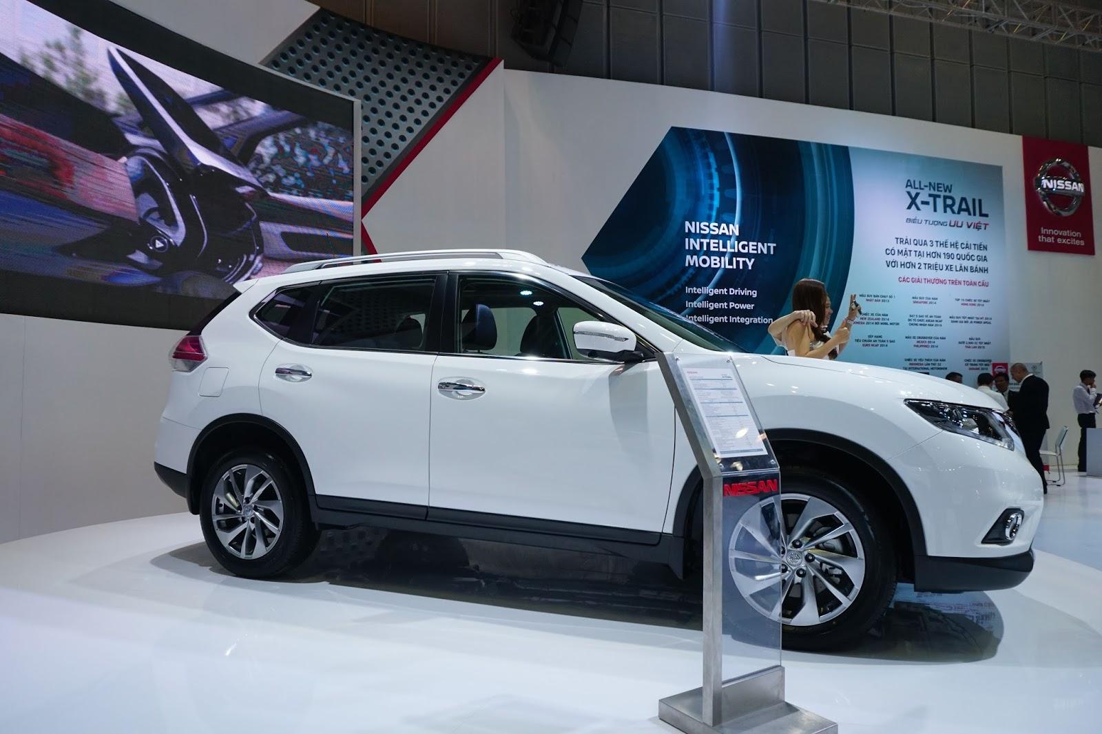 Nissan X-Trail 2016 có làm nên được cuộc lật đổ thời gian tới?