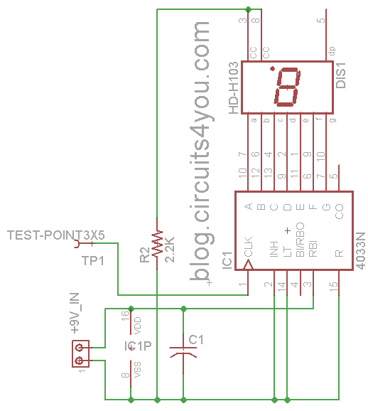 Wireless AC Mains Voltage Detector Circuit