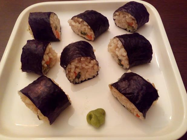 Come fare Maki vegan