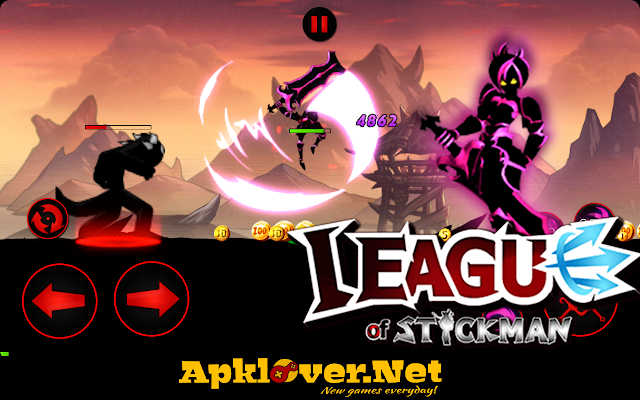 League of Stickman MOD APK unlimited money & skill