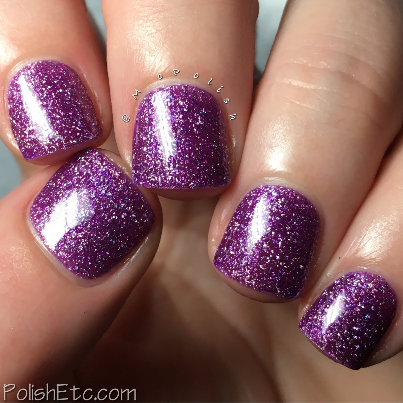 Nine Zero Lacquer - Extreme Weather Collection - McPolish - Hailstone