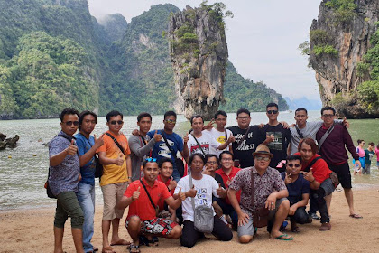 Inilah Penampakan Pulau Khao Phing Kan, Tempat Shotting Film James Bond