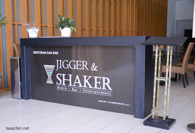 Jigger & Shaker, such a unique name