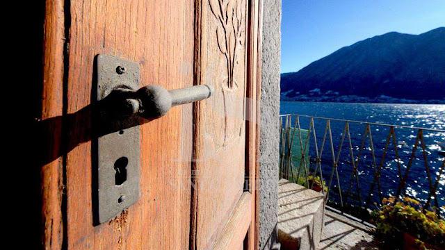 Colonno casa in vendita con vista lago