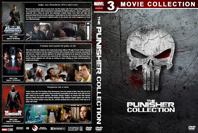 The Punisher Collection DVD Cover
