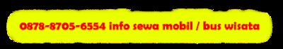 info sewa Hiace dan Bus pariwisata Jakarta