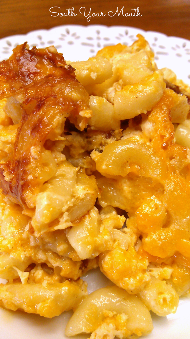 Southern-Style Crock Pot Macaroni & Cheese | South Your Mouth | Bloglovin'