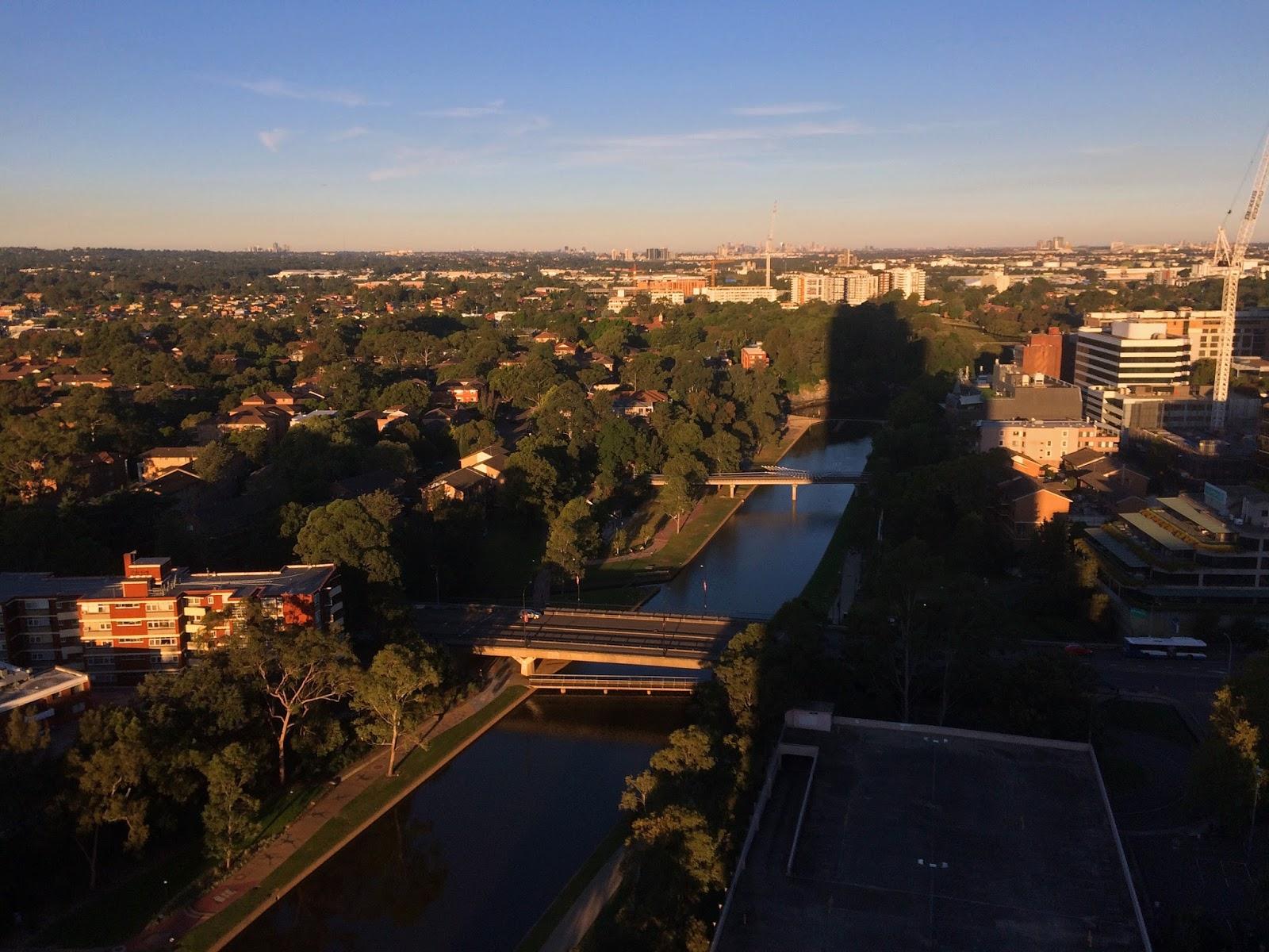 Meriton Church Street Parramatta River Views