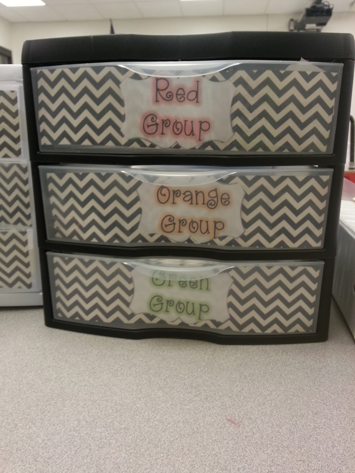 Classroom organization tips to organize your small group area