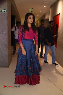 Actress Keerthi Suresh Stills at Remo Success Meet  0149.JPG