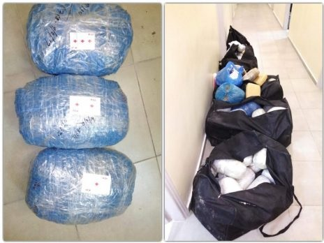 113 kg marijuana caught in Greece, 3 Albanians in shackles