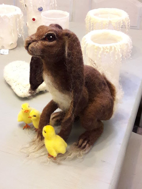 neddelfelted hare