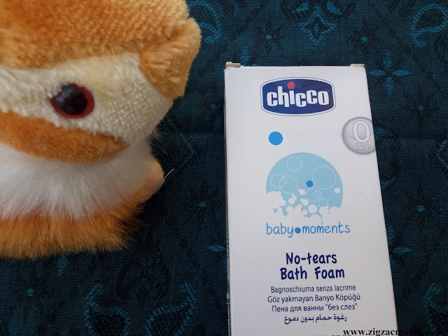 Chicco No-Tear Bath Foam/Body Wash Review