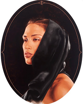 rostros-de-perfil-mujer-oleo