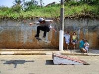 Rampa de skate montada na versão 2015 do evento Cultura & Conceito realizado no bairro do Jaraguá