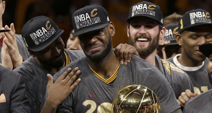 Llegó el día: inicia la final entre Cavaliers y Warriors, dos súper equipos