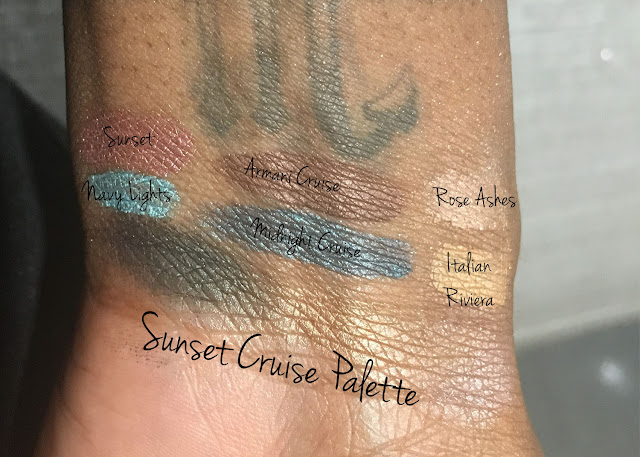Armani Sunset Cruise Palette