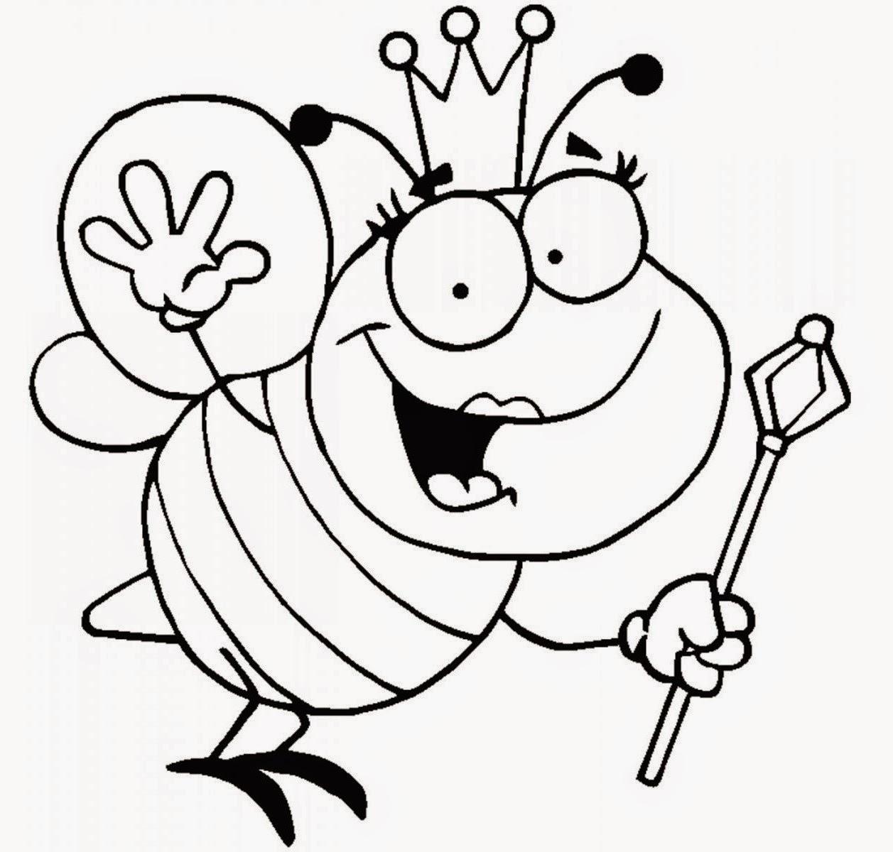 Colour Drawing Free Wallpaper Maya The Bee Coloring