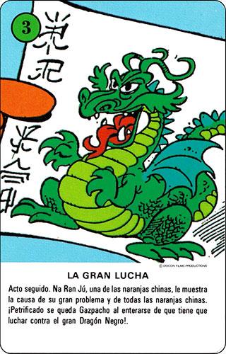 Baraja Los Fruittis Carta verde 3