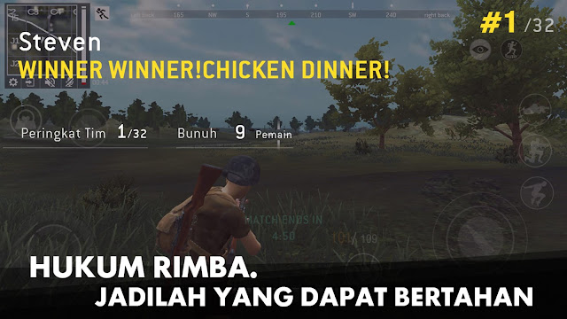 Tampilan Game Last Battleground Survival Android