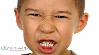 الجز علي الاسنان عند الاطفال