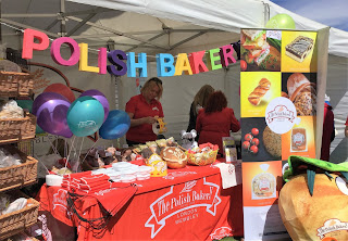 Pic of Polish Bakery Stall at Polish festival