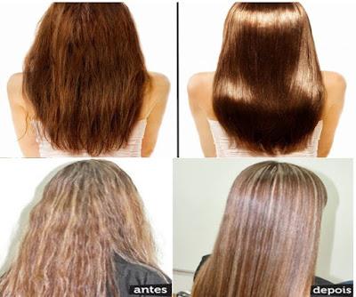 como recuperar cabelos ressecados