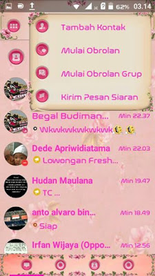 BBM Mod Droid Chat! V11.2.18 Rose Theme Based Official 3.0.0.18
