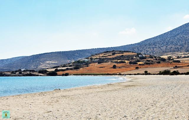 Kalados Beach en Naxos
