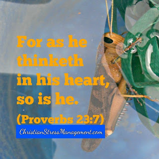 For as he thinketh in his heart so is he Proverbs 23:7