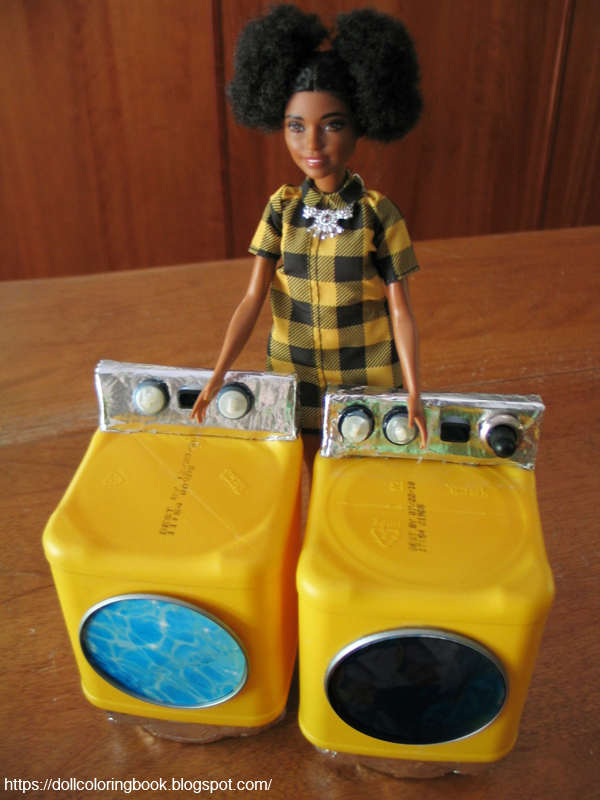 Imani Can T Wait To Get This Bright Yellow Front Loading Washer And Dryer Set Home Each Have Digital Panel Features Tiny Dials Made From Ons