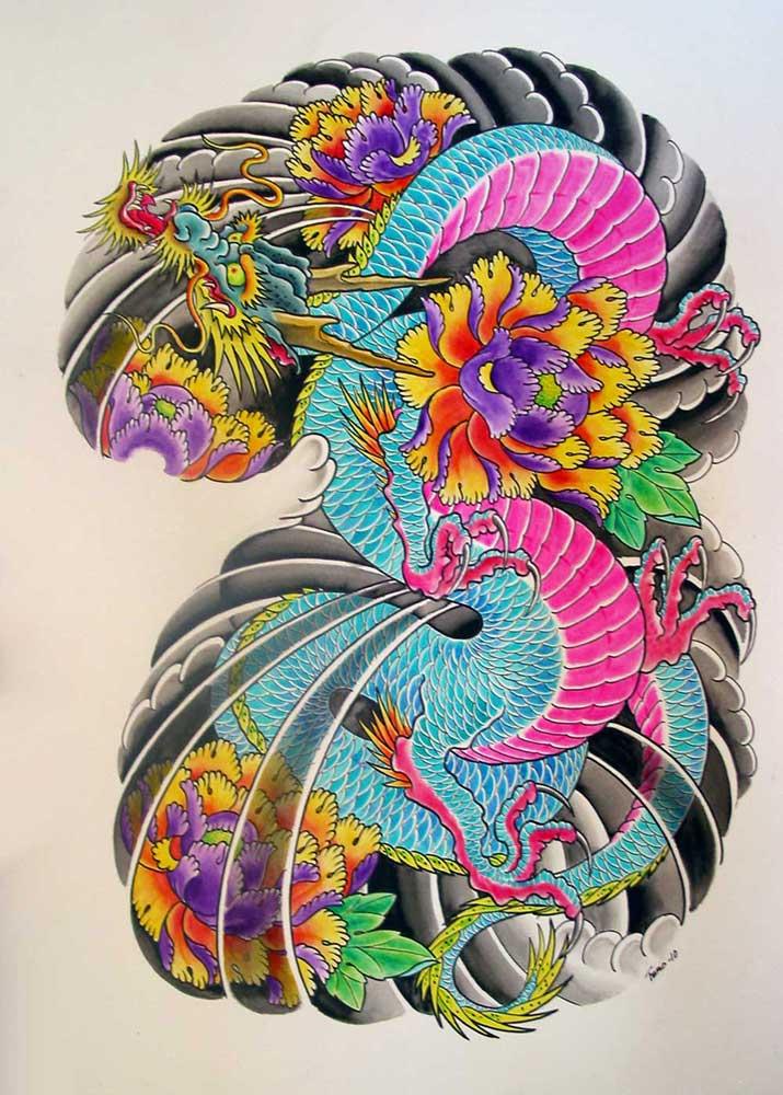 Asian Art Tattoo Designs