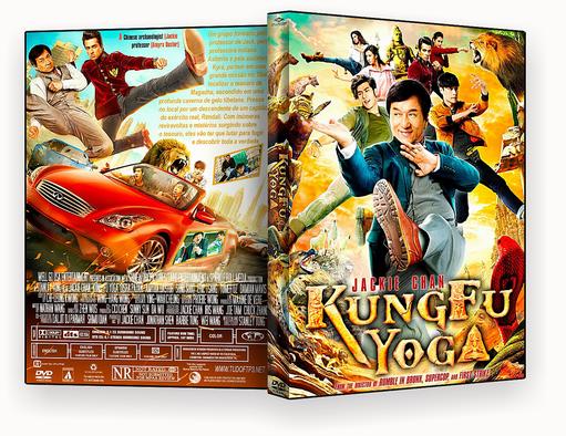 CAPA DVD – Kung Fu Yoga DVD-R AUTORADO