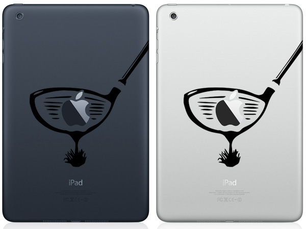 Golf Club iPad Mini Decals