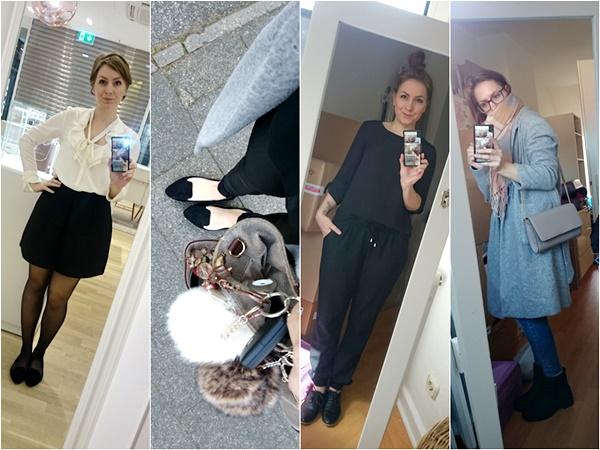 Josie´s little Wonderland - Sunny Sunday #89 - wochenrückblick, weekreview, outfit´s, fashion, kolumne, black and white look