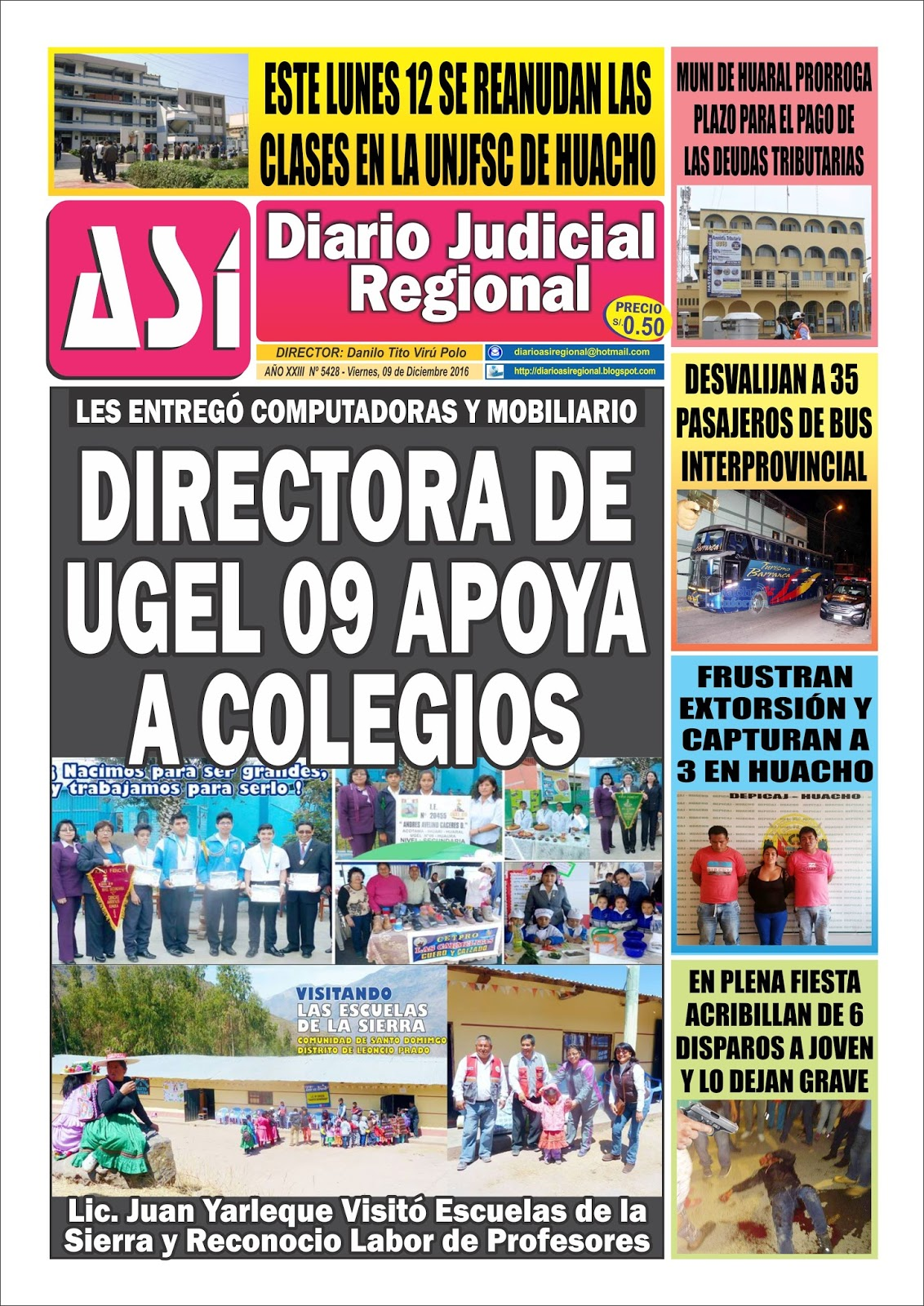 DIARIO ASI: DIARIO JUDICIAL REGIONAL ASÍ - EDICIÓN VIERNES 09 DE ...