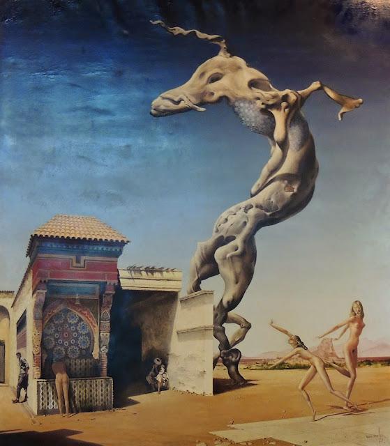 Jan Van der Loo artista pintor surrealismo Dalí