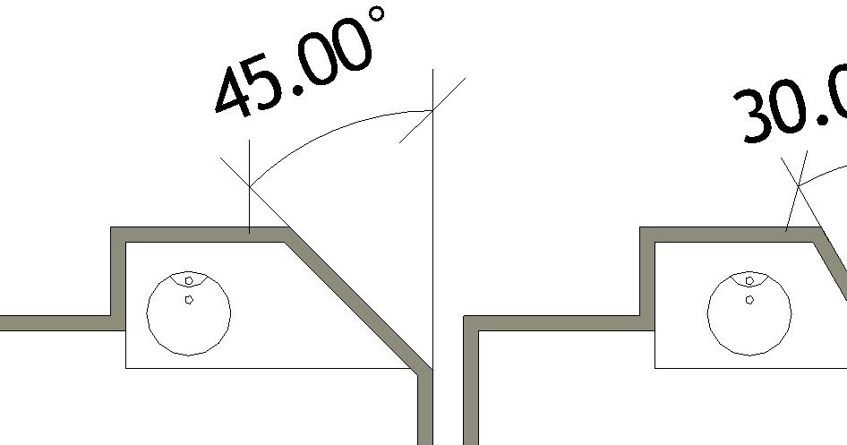 Revit-Mémo: Revit 2014_Famille_Plan vasque paramétrique