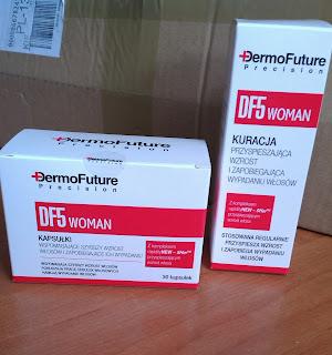 DF5 WOMAN, Dermo Future Precision- czyli kuracja wspomagająca wzrost włosów i zapobiegająca ich wypadaniu od TENEX