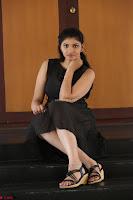 Khanishka new telugu actress in Black Dress Spicy Pics 20.JPG