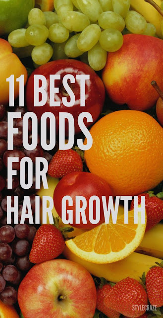 11 Essential Foods for Hair Growth