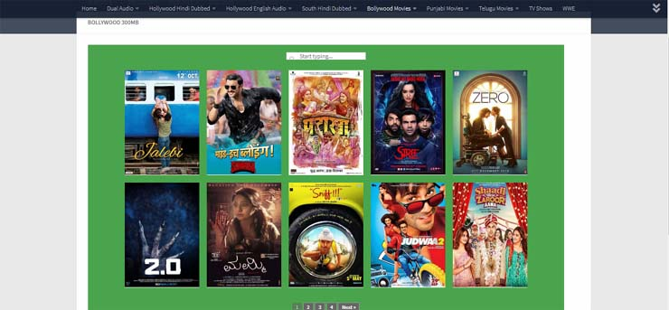 best website to download bollywood movies free