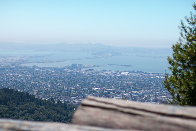 grizzly peak view of san francisco