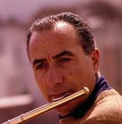 Severino Gazzelloni was regarded as one of Italy's finest flautist