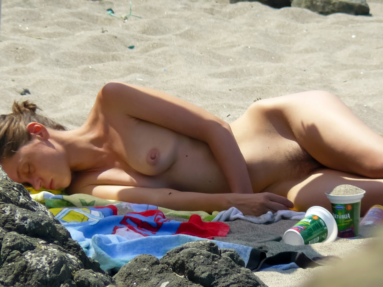 Amateur nudist milfs spy camera beach voyeur hidden 2