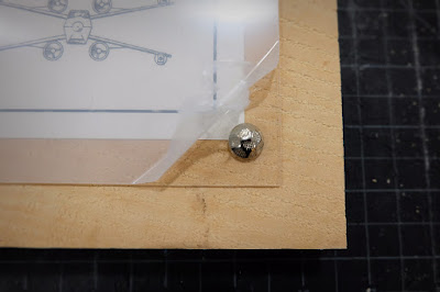 DIY star wars printable print furniture tack acrylic wood panel frame