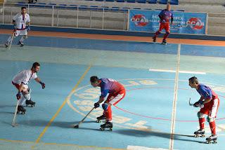 Quatro equipes disputam o II Torneio de Hóquei Sobre Patins no Pedrão